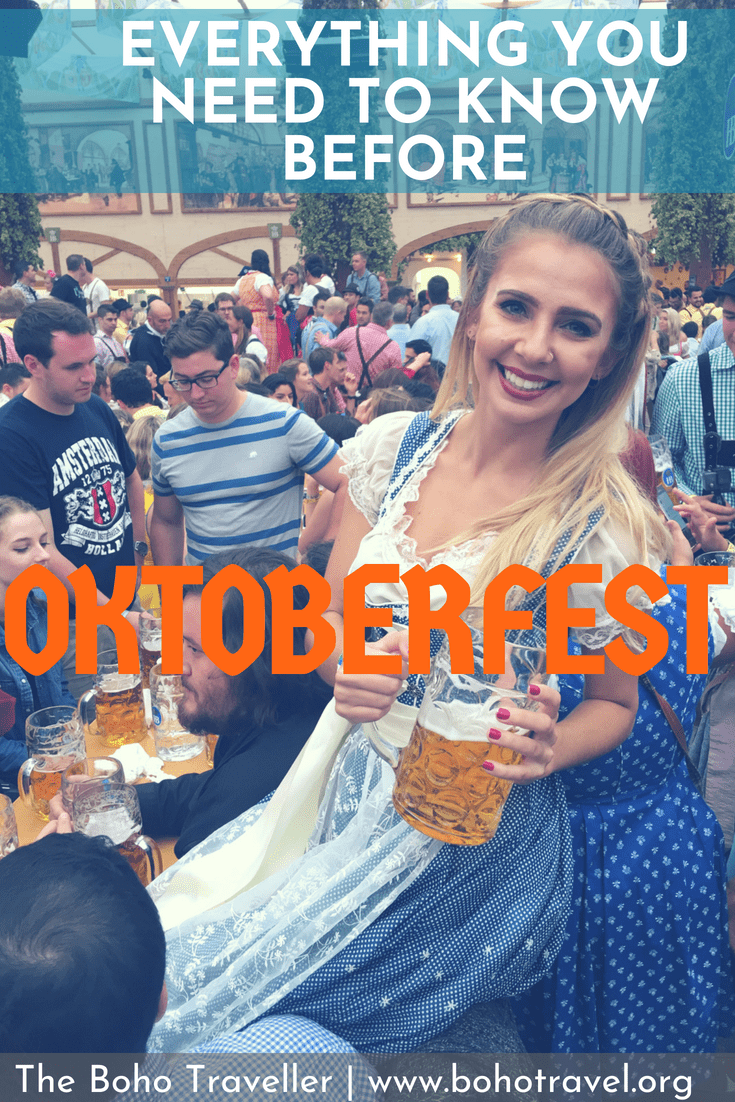 GIRL DRINKING IN DIRNDL AT OKTOBERFEST- OKTOBERFEST GUIDE