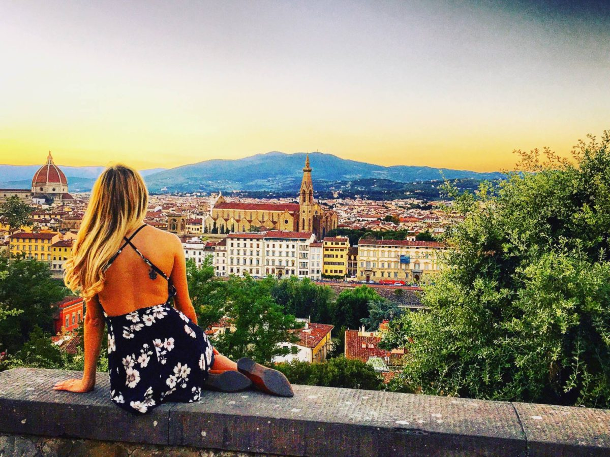 florence itinerary italy