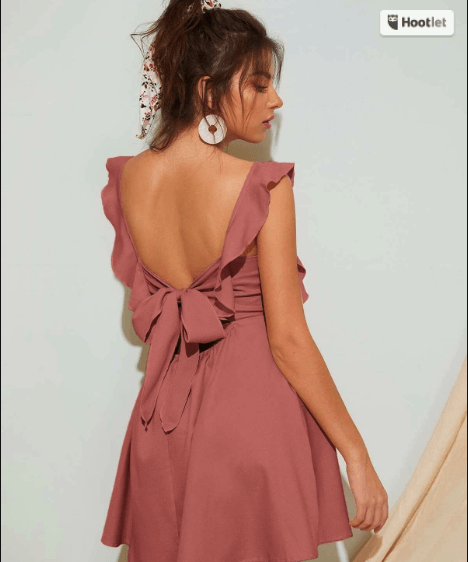 tie back dress to show what to wear in italy