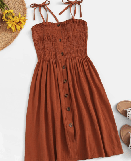 tie strap dress for what to wear in italy