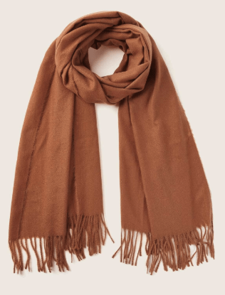 burnt orange scarf for what to pack when traveling to italy