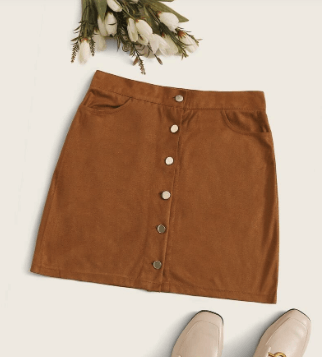 suede mini skirt button up to pack for italy for winter