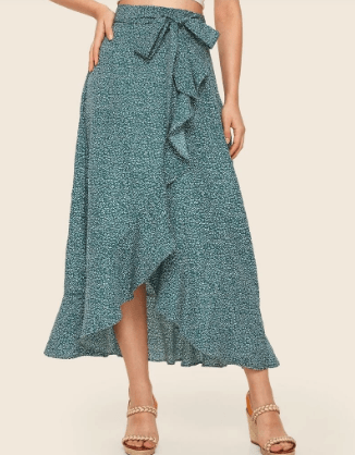 flowing wrap skirt for italy for summer