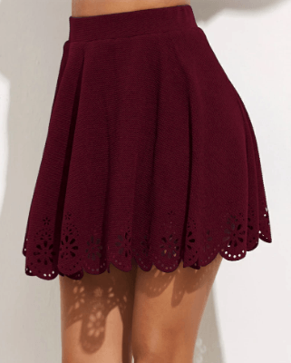 a line skirt to wear with tights in italy in winter