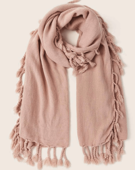 nude fringe scarf for what to wear in italy