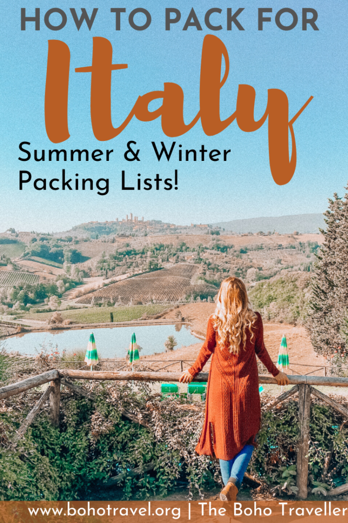 What to wear in Italy - Italy is the fashion capital of the world and it may leave you wondering what to pack for Italy. I have the perfect Italy packing list with a free downloadable packing list #italy #fashiontips #italyvacation #italytraveltips