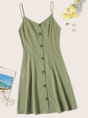 button up simple cover up dress for what to pack for the florida keys
