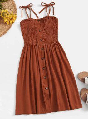 tie strap sundress to pack for the keys