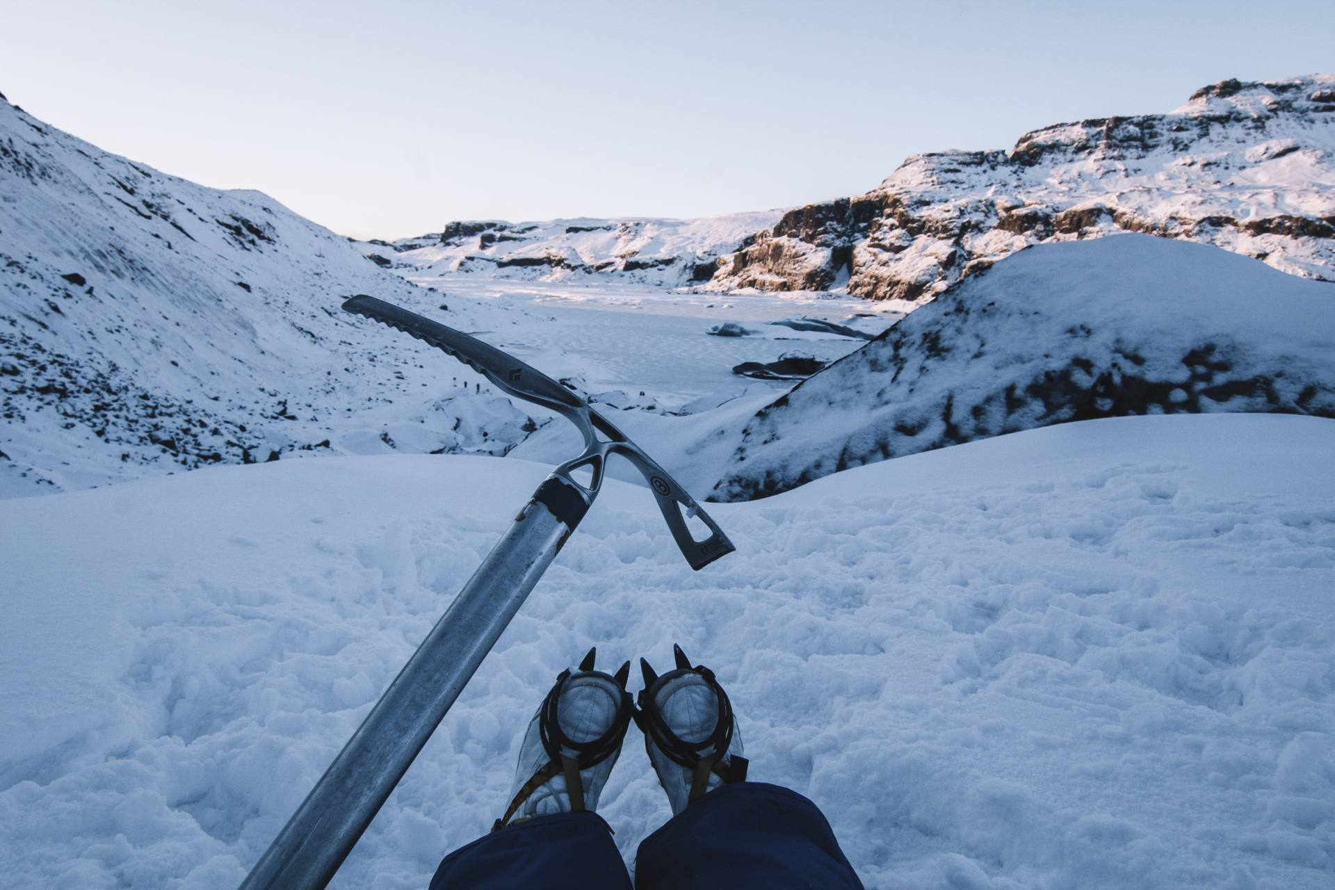 Glacier Hike with Icelandic Mountain Guides