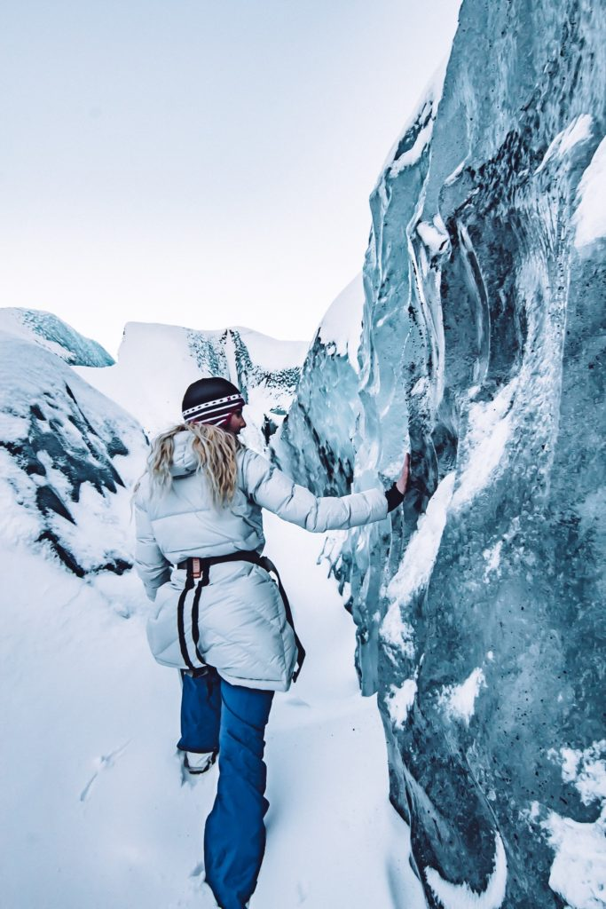 solheimajokull glacier in iceland - where to go in icealnd, what to do in iceland, iceland road trip, what to do with a week in iceland