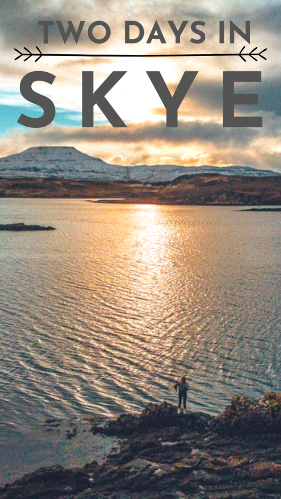 two day skye itinerary - what to do in the isle of skye, kilt rock in scotland, where to go in skye, the best of the isle of skye, things to do in skye, travel tips for scotland