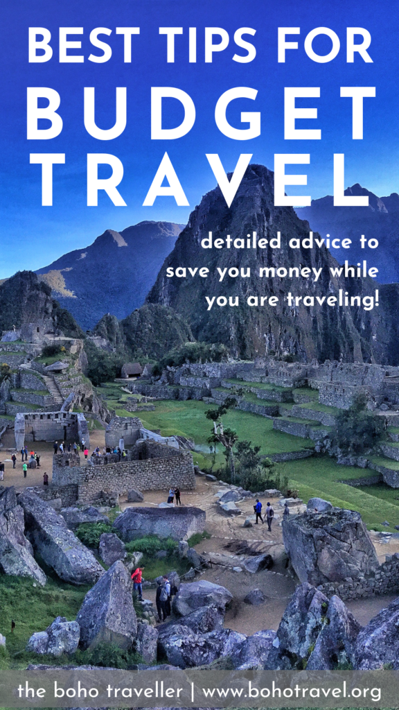 How to Save Money while Traveling- All of the best budget travel tips to help you save money while you are traveling the world.  Save money on flights, learn to budget your trip, and learn how to find out the cost of the place you are going to be traveling in! #budgettravel #budgettips #vacation #travel #beautifuldestinations #traveltips how to save money for travel | budget travel tips| how to save money on vacation | how to travel on a budget | low budget travel tips | budget travel advice