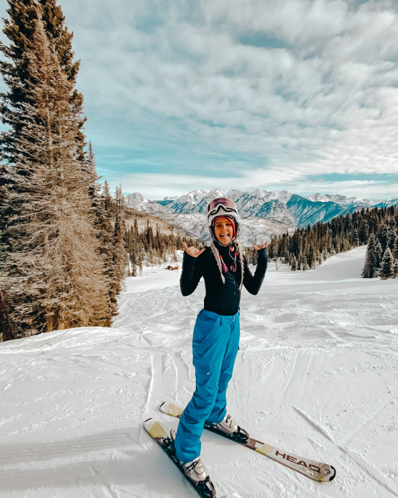 skiing at purgatory ski resort, one of the top things to do in durango colorado