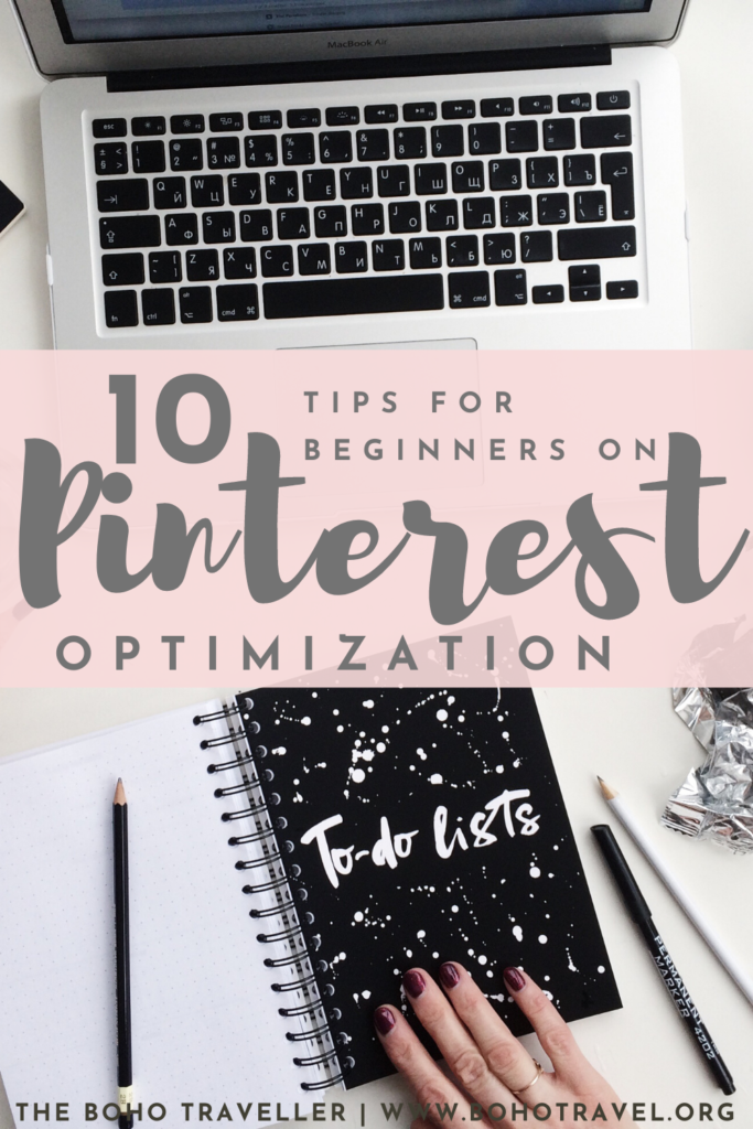 PINTEREST OPTIMIZATION FOR BEGINNERS - This Pinterest optimization guide will teach you some of the best practices for beginners at Pinterest! Learn how to get more clicks on pins, learn how to get more repins, and learn how to best optimize your Pinterest account to drive traffic to your blog! When starting a blog you want to make sure you have a great Pinterest technique to really get clicks on your pins and drive traffic to your blog from Pinterest! #PinterestTips #bloggingtips #blogger